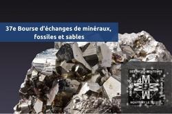 Bourse d'échanges de minéraux, fossiles et sables