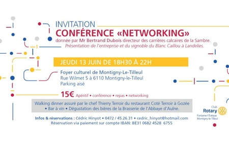 Conférence Networking du Rotary !